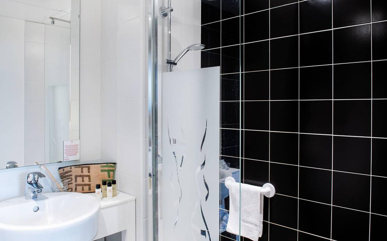 Modern bathroom, hotel Hautes Pyrénes, hôtel Panorama