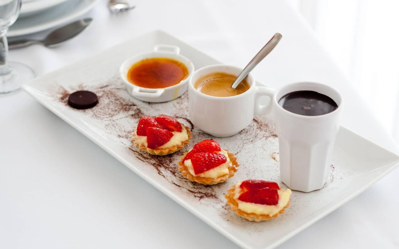 breakfast plate, restaurant Lourdes, hotel Panorama