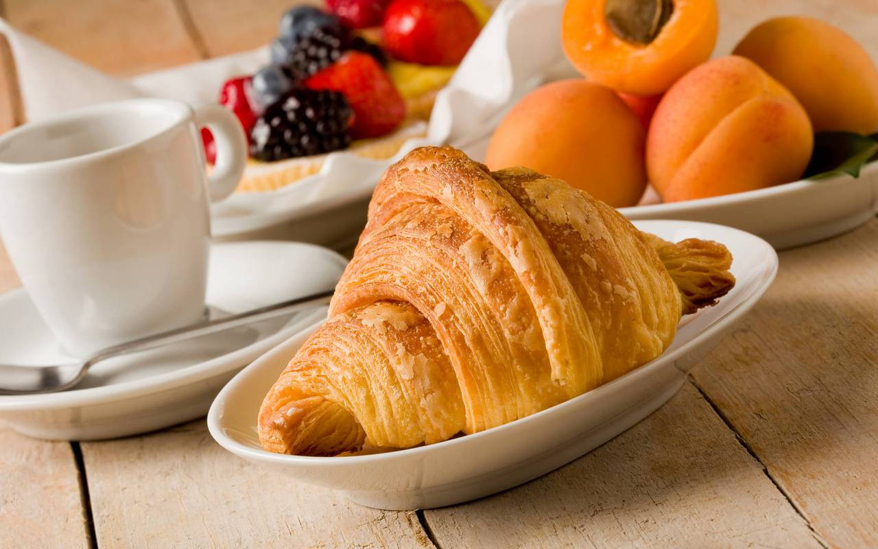 Breakfast, hotel Lourdes, hotel Panorama