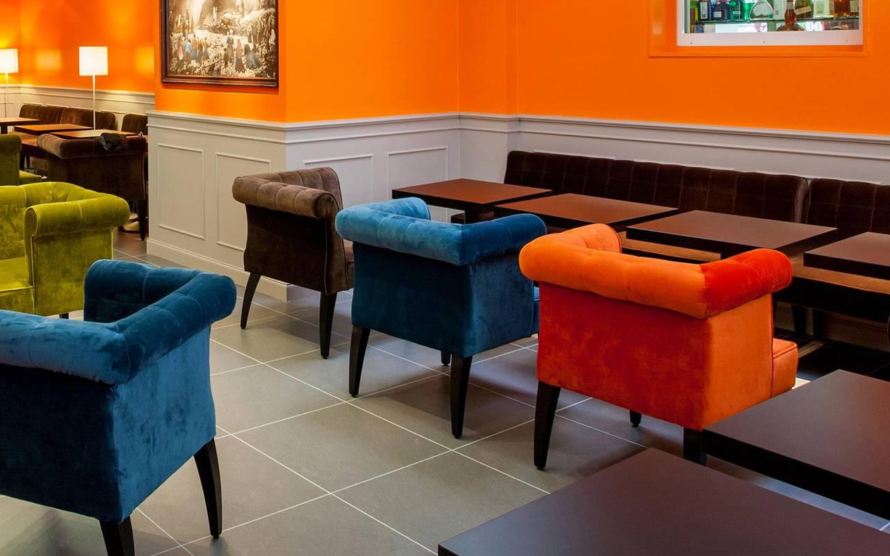 Lounge, team building Occitanie, hôtel Panorama